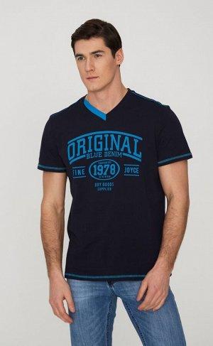 Футболка F911-06-310 d.blue
