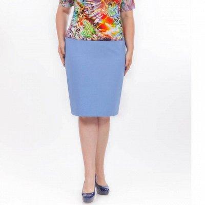 Женские брюки,юбки Palla-147. От 40 до 70 размера.  — Юбки Лето — Облегающие юбки