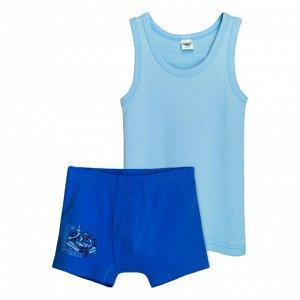3290 Комплект для мальчика (голубой/синий)