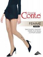 Femme Колготки с тату-рисунком FEMME