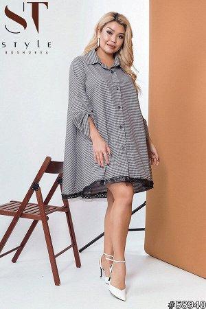Платье-рубашка 58940