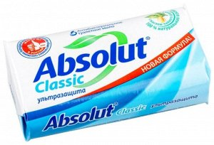 Мыло т. ABSOLUT 90г CLASSIC Ультразащита