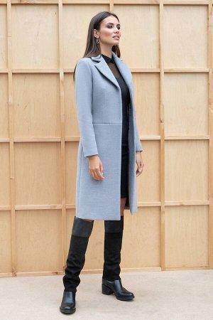 Пальто Пальто ЮРС 20-226/1  Состав ткани: ПЭ-38%; Шерсть-7%; ПАН-55%;  Рост: 164 см.  Пальто – элемент в женском гардеробе, обойтись без которого трудно самой продвинутой и модной леди. Оно под