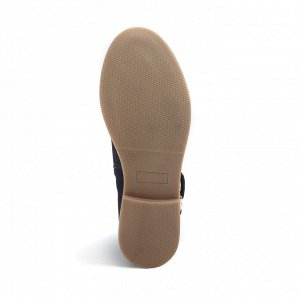 Ботинки летние женские, синий нубук