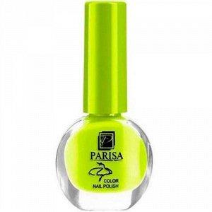 PARISA Лак для ногтей №70 лимонный неон (матовый) 7мл