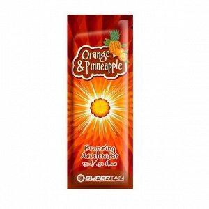 Крем-ускоритель загара в солярии Lемоngrass&Orange «Лемонграсс и апельсин» с коллагеном и антицеллюитным действием, 15 мл