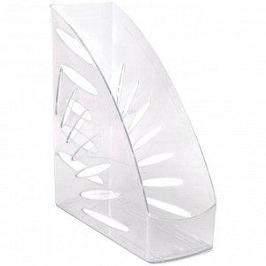 """Лоток для бумаг вертикальный Стамм """"Тропик"""", прозрачный"""