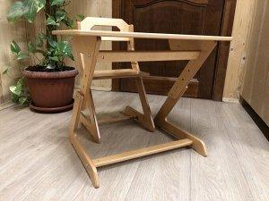 Комплект Данный комплект столик со стульчиком представляет собой полностью организованное рабочее место дошкольника. Предназначен для эксплуатации на протяжении всего дошкольного периода ребенка, обес