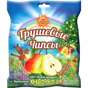 """ЧИПСЫ/Грушевые чипсы """"С корицей"""", упаковка 25"""