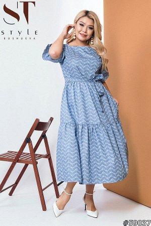 Платье 59037