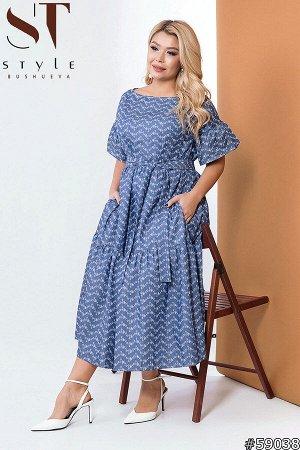 Платье 59038