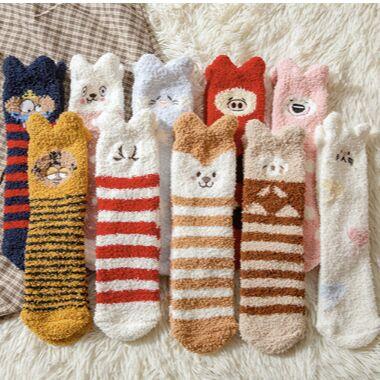 Уютная одежда: колготки до 600ден, носки, перчатки для всех  — Носки женские махровые и вязаные — Носки