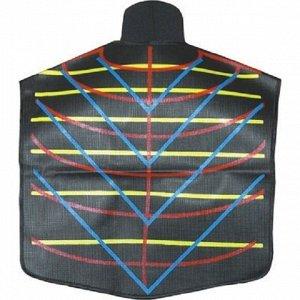 Накижка на плечи с разметкой и магнитной застежкой