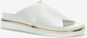 807280/11-01 белый иск.кожа женские туфли открытые