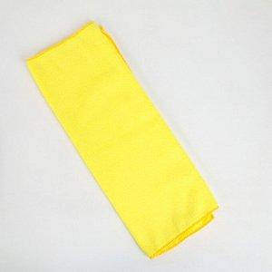 Тряпка для мытья пола супервпитывающая Доляна, 60?40 см, 250 г/м2, микрофибра, цвет МИКС