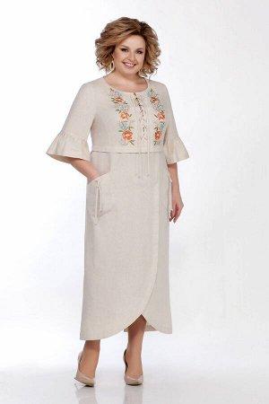 Платье LaKona 1285 песочный