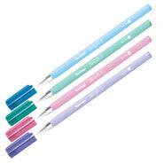 """Ручка шариковая Berlingo """"Starlight S"""", синяя, 0,5мм, корпус ассорти пастель"""