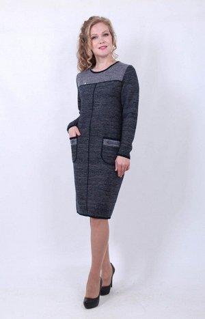 Платье 945 АССОРТИМЕНТ: Платья/Сарафаны; СТРАНА: РОССИЯ; БРЕНД: Шаркан; МОДЕЛЬ: 945; СОСТАВ: шерсть 30% пан 70%; ЦВЕТ: серыйсиний Описание                     Платье 945 МОДЕЛЬ , производитель Шарка