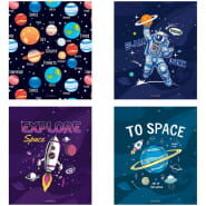 "Тетрадь 48л., А5, клетка ArtSpace ""Космос. Space missione"""