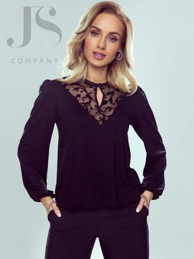 НОВИНКИ! Элегантные польские блузки,топы,футболки 30 — Eldar - блузки — Блузы