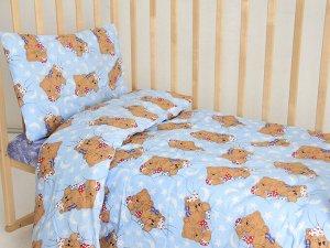"""Комплект постельного белья """"Мишки-3"""" Ясли"""