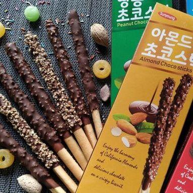 Акция -50%  на вкуснейшие шоколадные палочки Sunyoung! — Sunyoung! Акция -50% — Вафли и печенье