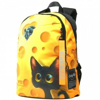 Ранцы и рюкзаки UFО PEОPLЕ 68 📚   — Рюкзаки с принтами 2020 — Школьные рюкзаки