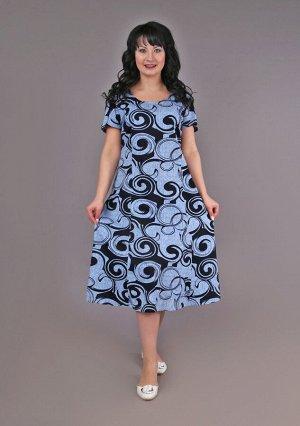 Платье рельеф (узоры)