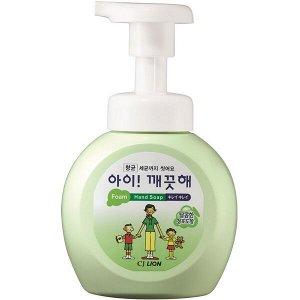 """LION Мыло пенное для рук с антибактериальным эффектом """"Ai - Kekute""""  с ароматом винограда, флакон, 250 мл"""