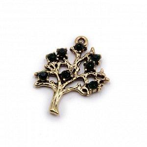 Талисман Денежный для кошелька Дерево Жизни - символ счастливой судьбы и благополучия 4см