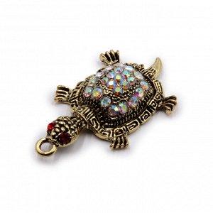 Талисман для кошелька Черепаха - символ движения вперед к удаче и росту доходов 5см