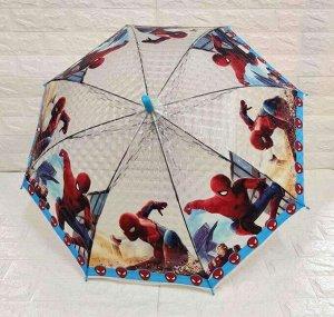 """Зонт-трость детский 3D """"Железный человек"""""""