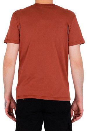 Футболка Код товара: 49470 Бренд: SAMO Модель: круглый вырез Фактура: однотонная Комплектация: футболка ЦВЕТ: коричневый СОСТАВ: хлопок-100%