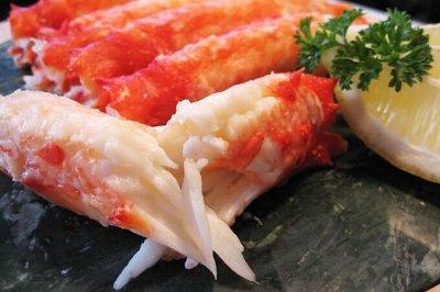 Рыбка сушеная, копченая, соленая! Акция на свежий кальмар! — Фаланга краба — Свежие и замороженные