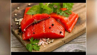 Рыбка сушеная, копченая, соленая! Акция на свежий кальмар! — Нерка Малосолёная — Соленые и копченые