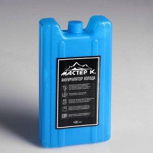 """Аккумулятор холода """"Мастер К"""", 400 мл, 8.5?3.5?16.5 см"""