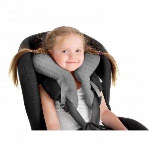 Детская подушка для путешествий, цвет серый