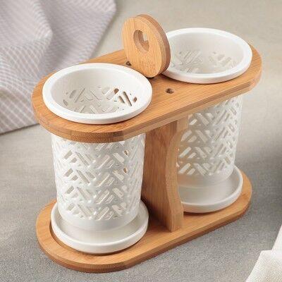 Счастливая Кухня-Посуда для Комфортного быта !  — Подставки для столовых приборов — Салфетницы и подставки