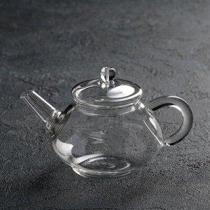 """Чайник заварочный с металл ситом """"Клео"""" 250 мл"""