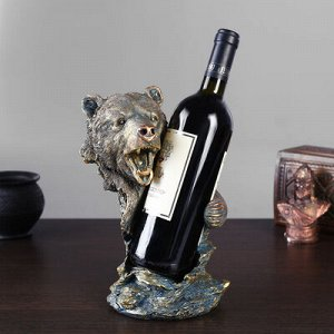 Подставка для вина «Медведь» 17x15.2x26 см