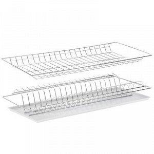 Комплект посудосушителей для шкафа 60 см с поддоном 565х256 (цинк)