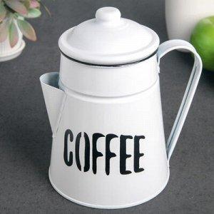 """Кувшин """"COFFEE"""" 1 л 17х13х18 см"""