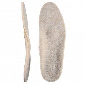 Стельки ортопедические с покрытием из натуральной шерсти Talus 50Т, размер 41