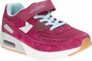 Обувь для активного отдыха (бордовый) р.33-37 (10 пар)