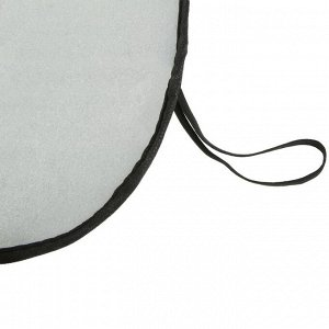 Экран солнцезащитный TORSO, на лобовое стекло 130х60 см