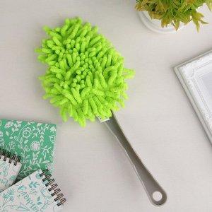 Щётка для удаления пыли Доляна, 30 см, цвет МИКС