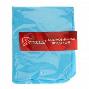 Замша протирочная TORSO, 40х30 см, микс