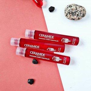 Farm stay Ceramide Damage Clinic Hair Filler Филлер для восстановления волос с Керамидами 13мл(1шт)