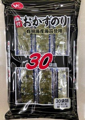 Окадзу нори WAKOU - морасакая капуста к гарниру, 30 пакетов по 5 шт.