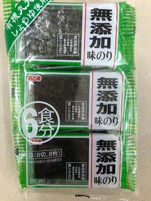 Адзи нори HAMAOTOME - морасакая капуста к гарниру с соевым соусом 6 пакетов по 8 шт.